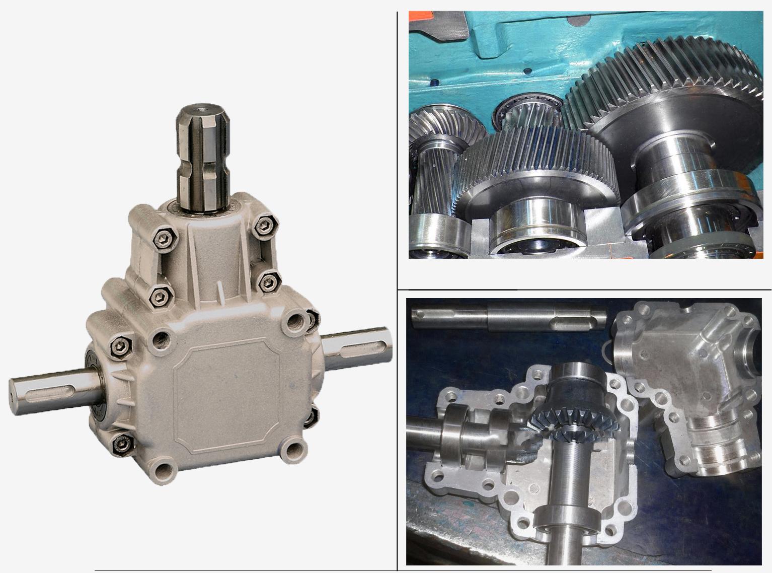 Insulance Resistance Fertilizer spreader gearbox