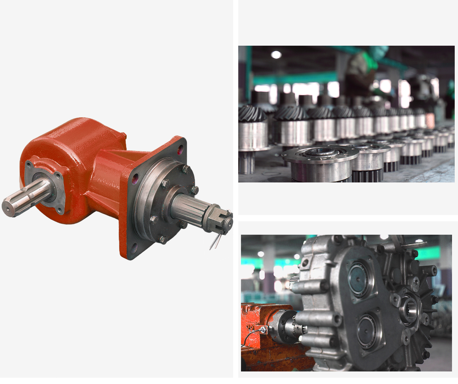 agricultural rotary mower gearbox